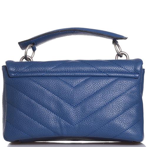 Стеганая сумка La Carrie синего цвета, фото