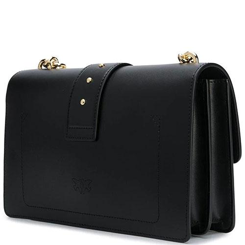 Сумка кросс-боди Pinko черного цвета, фото