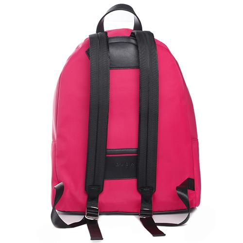 Красный рюкзак John Richmond Antec с вышитым логотипом, фото