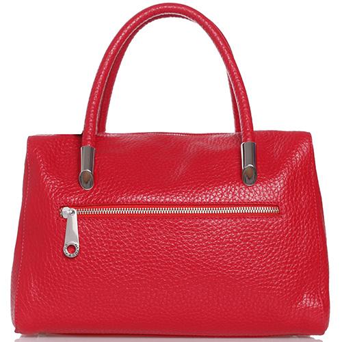 Женская сумка Di Gregorio красного цвета, фото