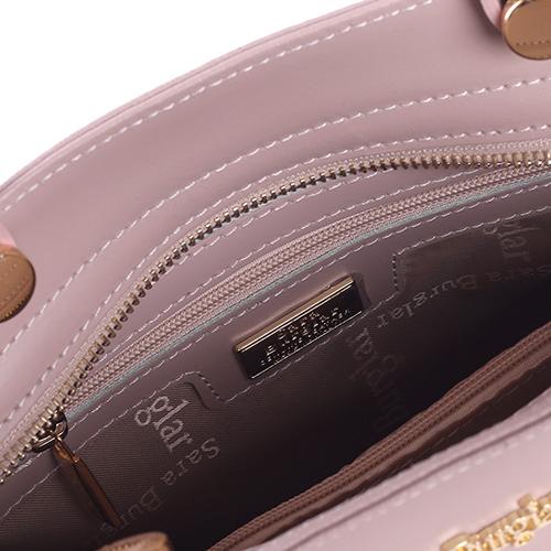 Бежевая сумка Sara Burglar прямоугольной фомы, фото