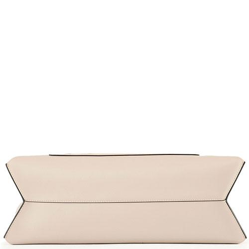Сумка-тоут Cromia Romy бежевого цвета, фото