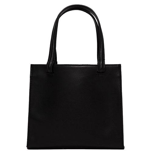 Женская сумка Gianni Chiarini Cube из черной глянцевой кожи, фото