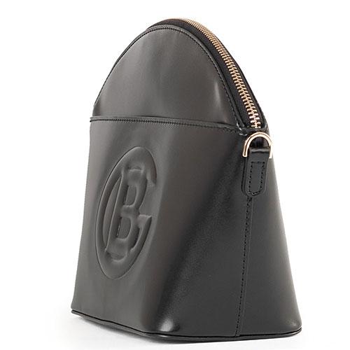 Женская сумка Baldinini Camilla черная с логотипом, фото