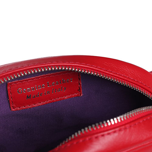 Стеганная поясная сумка J'Amemme Odrie belt красного цвета, фото