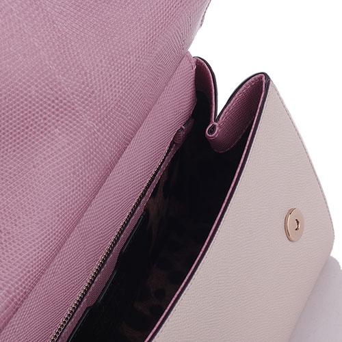 Сумка-тоут Dolce&Gabbana Borsa a Mano в розовом цвете, фото