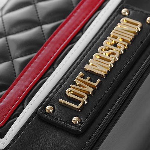 Маленькая сумка Love Moschino со стеганой серединой, фото
