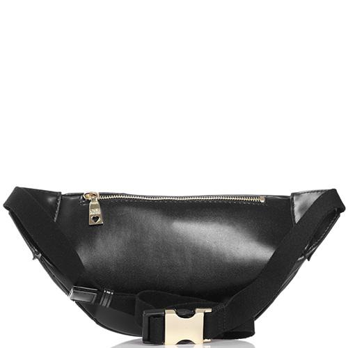 Поясная сумка Love Moschino черного цвета, фото