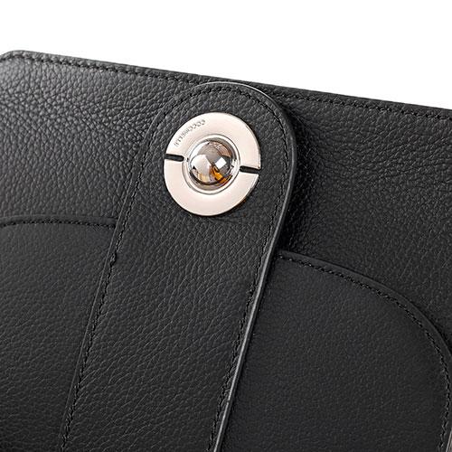 Сумка-кроссбоди маленькая Coccinelle Leila Mini из кожи черного цвета, фото