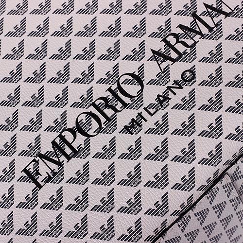Рюкзак Emporio Armani белого цвета с принтом, фото