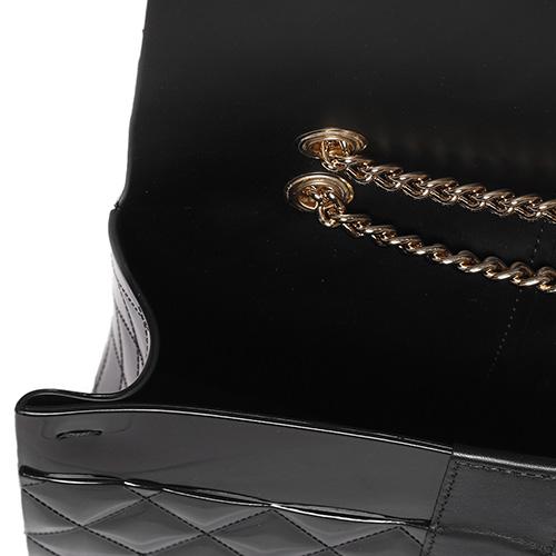 Стеганая сумка Menghi на двойной цепочке, фото