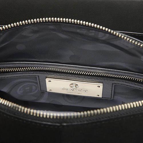 Кожаная сумка Baldinini Ginepro с тиснением сафьяно и съемным плечевым ремнем, фото