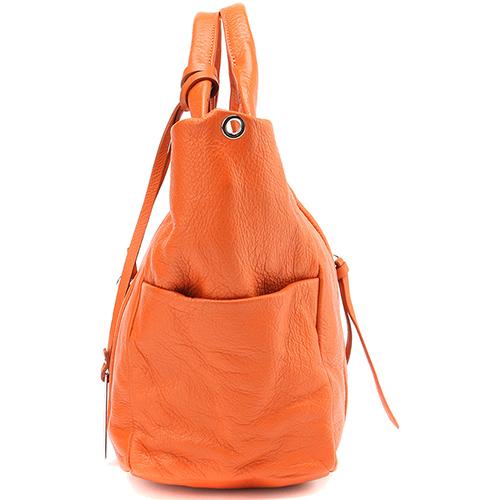 27089cdf8b03 ☆ Оранжевая сумка-шоппер Ripani трапециевидной формы купить в Киеве ...