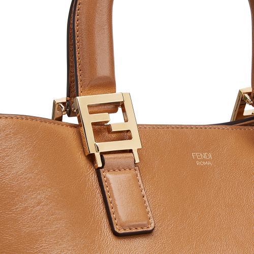 Сумка-тоут Fendi коричневого цвета, фото
