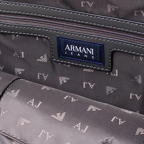 23452a79c9d6 ☆ Сумка трапециевидной формы Armani Jeans серого цвета 922575-cc864 ...