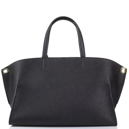 Черная сумка Twin-Set Simona Barbieri с тиснением Сафьяно, фото