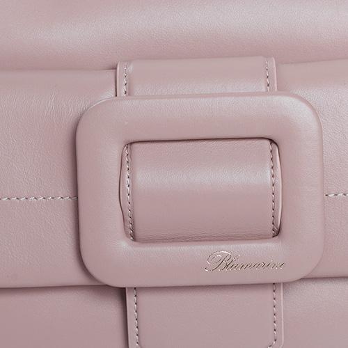 Сумка Blumarine Astrid бежевого цвета на цепочке, фото