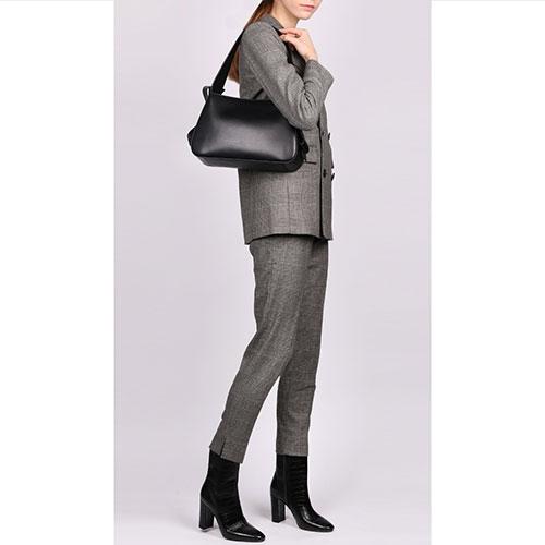 Черная сумка Blumarine Jenny из гладкой кожи, фото