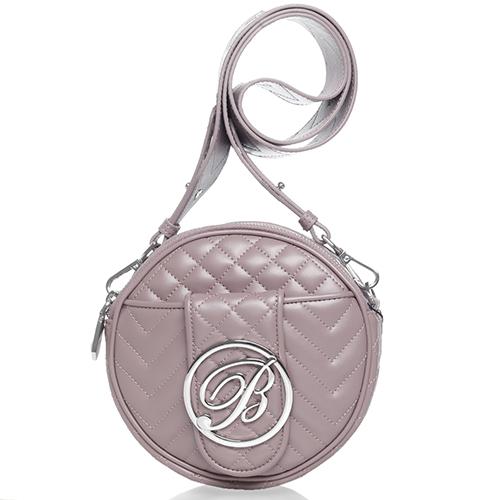 Стеганая сумка Blumarine Taryn круглой формы, фото