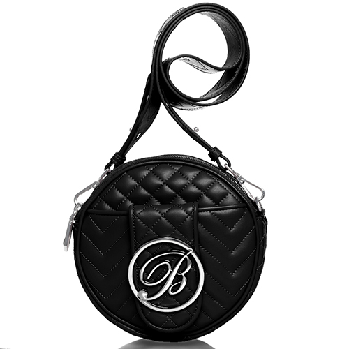 Круглая сумка Blumarine Taryn на широком ремне, фото
