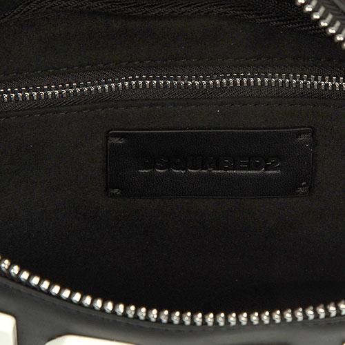 Поясная сумка Dsquared2 с декором-принтом, фото