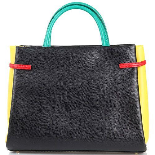 Яркая сумочка Cavalli Class Pandora Bag с внешним карманом, фото