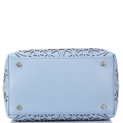 Сумочка Cavalli Class Stardust голубого цвета, фото