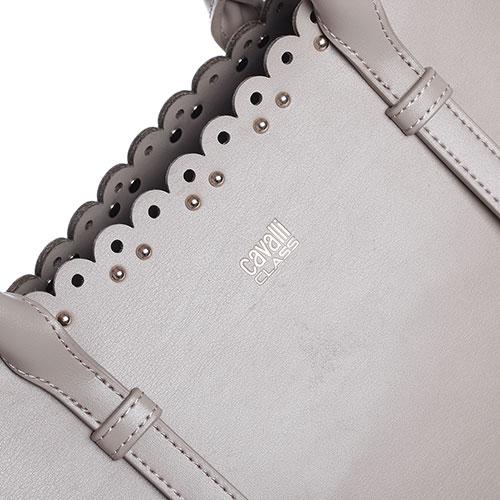 Сумка Cavalli Class Leolace с декором-заклепками, фото