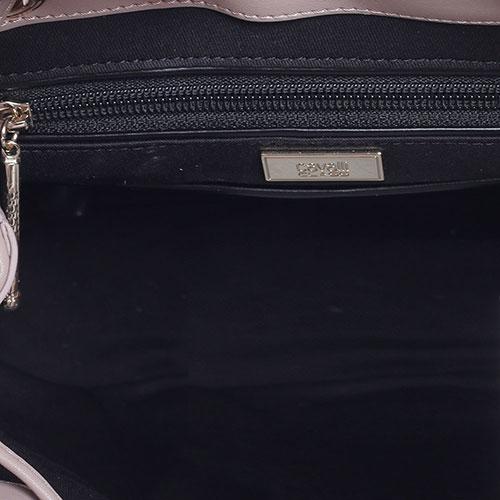 Стеганый рюкзак Cavalli Class Jolie с декором-бусинами, фото