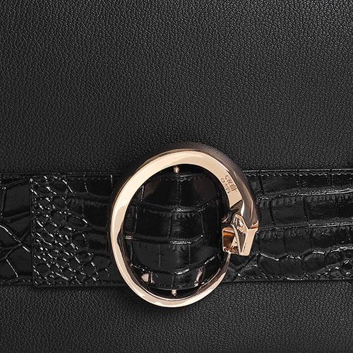Cумка флеп-бег Cavalli Class Lalie черного цвета, фото