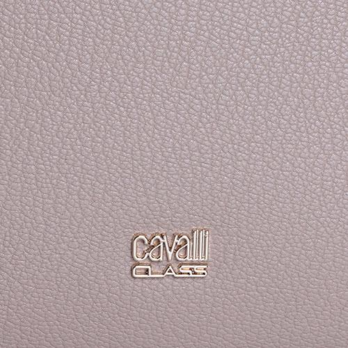 Темно-бежевая сумка Cavalli Class Lalie со съемным ремнем, фото