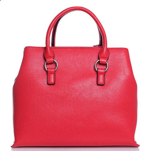 Красная сумка Cavalli Class Andrea со съемным ремнем, фото