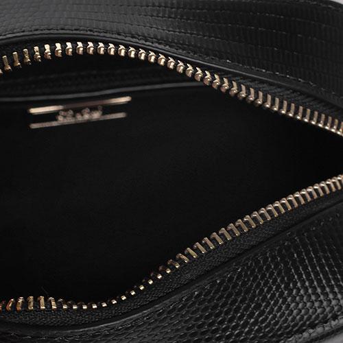 Сумка кросс-боди Cavalli Class в черном цвете, фото