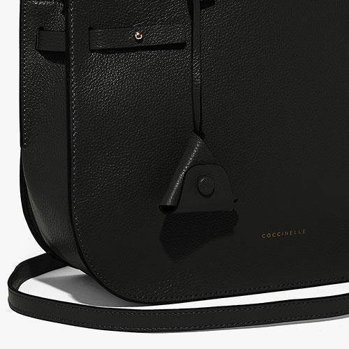 Черная деловая сумка Coccinelle Didi Medium, фото