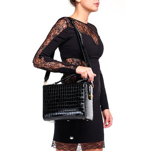 Женская деловая сумка Coccinelle с тиснением, фото