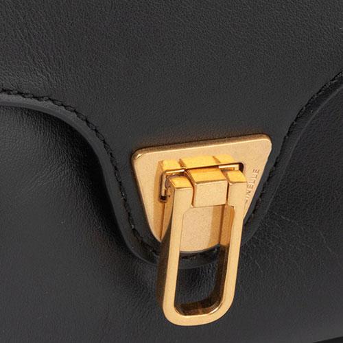 Сумка кросс-боди Coccinelle Beat черного цвета, фото