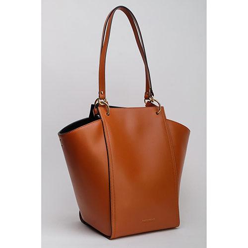 Женская сумка Coccinelle коричневого цвета, фото