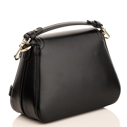 Черная сумка Elisabetta Franchi со съемной ручкой, фото