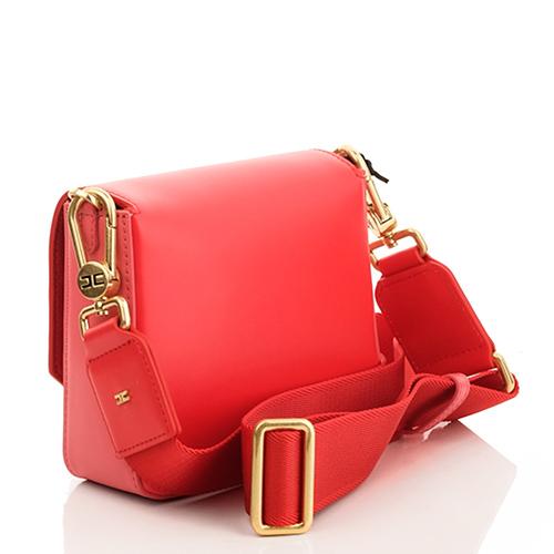 Маленькая сумка Elisabetta Franchi кораллового цвета, фото