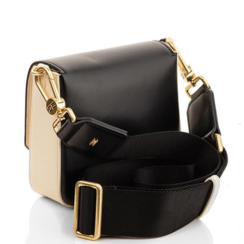 Черная сумка Elisabetta Franchi с металлическим логотипом, фото