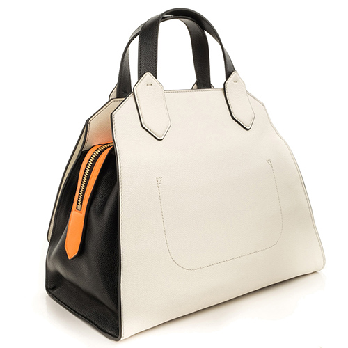 Деловая сумка Emporio Armani с черными ручками, фото