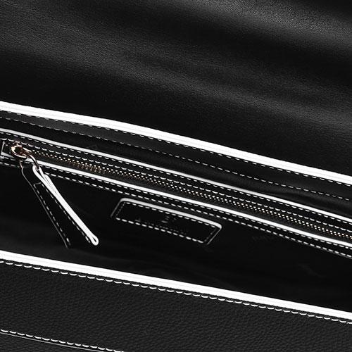 Маленькая сумка Baldinini Zelda с белой окантовкой, фото