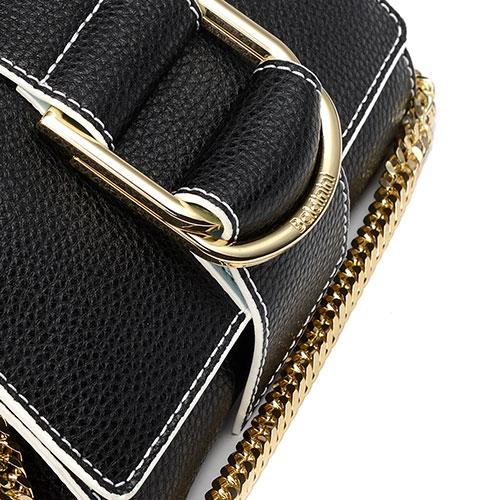 Сумка-клатч на цепочке Baldinini Megan из зернистой кожи, фото