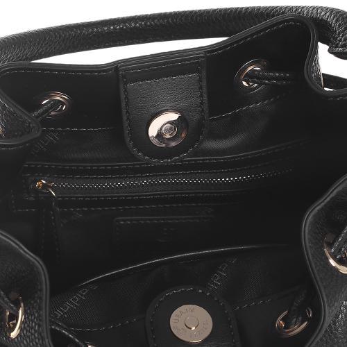 Сумка-мешок Baldinini Margaret из черной кожи, фото