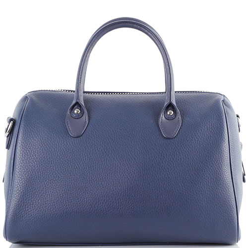 Синяя сумка Armani Jeans с кисточкой, фото