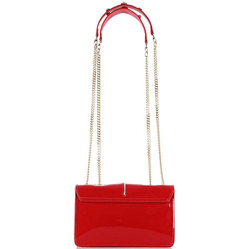 Красная лаковая сумка Patrizia Pepe, фото