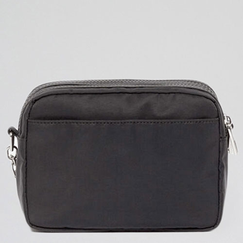 Черная сумка Kenzo на широком ремне, фото
