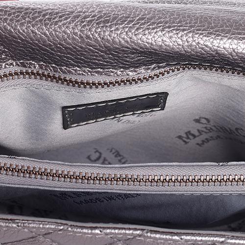 Маленькая сумка Marina Creazion с декором-бусинами, фото