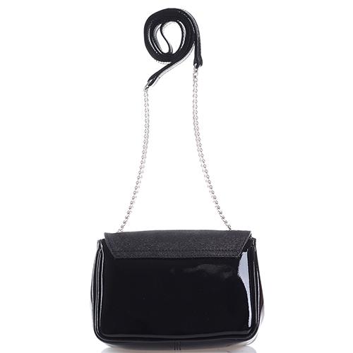 Маленькая сумка Di Gregorio из лаковой кожи, фото