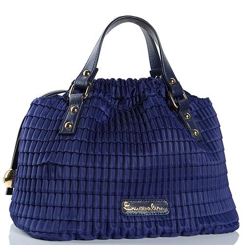 8f4efd49fdbe ☆ Синяя текстильная сумка Braccialini купить в Киеве, Украине ...
